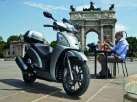 Scooter Kymco PEOPLE GTi 125 CBS (Topcase) Euro 4